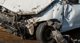 Wypadek na Trasie Toruńskiej. Jedna osoba w szpitalu